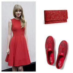 Taylor swift . Red. Keds