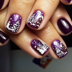 Świąteczne wzory na paznokcie