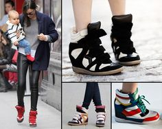 Getting Sneaky: From Isabel Marant to Steve Madden, Sneaker wedges are the Ish.... | FLYJANE