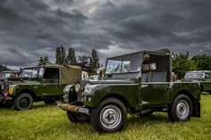 Cabauto ‪#‎throwbackthursday‬ | CAB Automotive at one of the largest military vehicle & re-enactment events with over 400 military vehicles. Wartime in the Vale, Nr Evesham, Worcestershire #landrover #defender