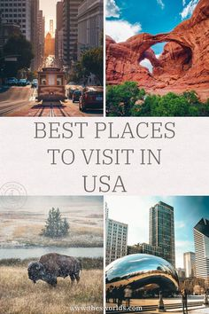 Best places to visit in the USA, explore America! Discover some of the best bucket list travel destinations in the United States from New York City, Yellowstone to Zion National park and skiing and hiking destinations! Read about destinations that will spark travel ideas. | USA Bucket list destinations | Best USA destinations | USA National Parks | Travel ideas USA #usa #america #destination #national #park #newyork #bucket #ideas #travel #list #yellowstone Usa Travel Guide, Travel Plan, Travel List, Travel Ideas, Travel Inspiration, Us Travel Destinations, Amazing Destinations, Places To Travel, Beautiful Places To Visit