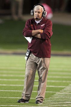 Frank Beamer winningest active coach