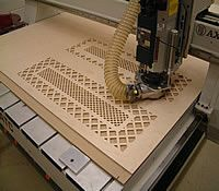 Hamilton Scenic Specialty bought a CNC router to increase production while building stages for theaters and a growing museum display business.
