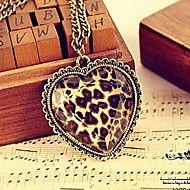 Bronze glas facetter af kærlighed fersken hjerte ... – DKK kr. 8