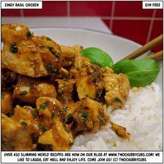 zingy basil chicken