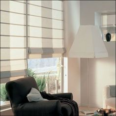 blinds Like the light filtering & privacy & clean lines idea for front room