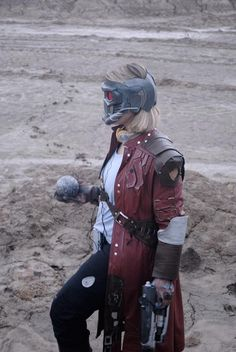 Starlord (Guardians of the Galaxy) #Rule63 #Cosplay