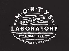Morty's Skateboard Laboratory by Jeff Buchanan
