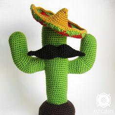 PDF PATTERN EN Mexican Cactus amigurumi crochet por Armigurumi