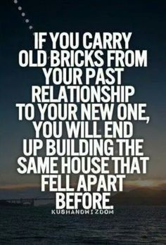 Don't let the past ruin the future!