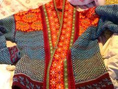 Ravelry: rishi's Knit Jacket by queen Fair Isle Knitting, Hand Knitting, Knitting Patterns, Fair Isle Pattern, How To Purl Knit, Knit Jacket, Knit Cardigan, Jacket Pattern, Knit Fashion