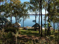 Riverstone Bay picnic area, Lake Awoonga near Gladstone.