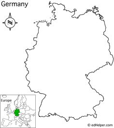 Image Result For Map Of German Towns