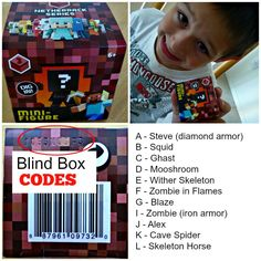 My son loves the new Minecraft Blind Box Series 3 Netherrack toys. The Minecraft Blind Box Series 3 is the Netherrack series and it includes Diamond Steve, Squid. Minecraft Toys For Kids, The New Minecraft, Minecraft Mini Figures, Minecraft Party, Minecraft Stuff, Minecraft Room, Birthday Gifts For Boys, Gifts For Kids, Toys For Boys