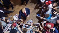 Trump Bumps Cruz, Takes First in Iowa Poll
