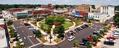 Gainesville, GA Square... One of our favorite places!