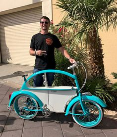 VW Beetle Bike - Clyde James - Click to read the full article.