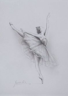 Desenho - Bailarina