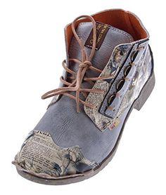Damen Leder Knöchel Schuhe Stiefeletten Comfort Desert Boots TMA 5330 Halbschuhe Schwarz Weiß Rot Blau - http://on-line-kaufen.de/tma/damen-leder-knoechel-schuhe-stiefeletten-desert