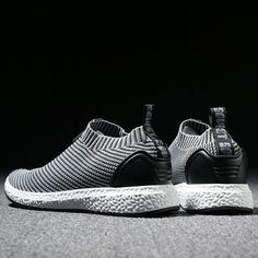 sports shoes c5cca 20b3f Men Knitted Strech Fabric Breathable Non-slip Slip On Casual Sneakers  Sandalias De Nike,