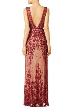 Red Amira Gown by CATHERINE DEANE for $250 | Rent The Runway