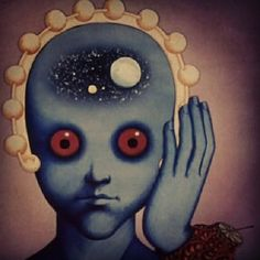 "From ""Fantastic Planet"" (""Le Planete Sauvage"") - A masterpiece everyone should see by Rene Laloux. Psychedelic Experience, Psychedelic Art, Mysterious Universe, 70s Sci Fi Art, Fantasy Castle, Fantasy Films, Out Of This World, Celebrity Weddings, Futuristic"