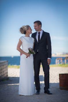 Weddeing Portrait at Docken in Copenhagen