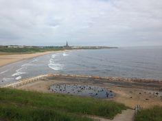 Tynemouth long sands beach 7.45am 9th June 2015 www.tynemouthwebcam.com
