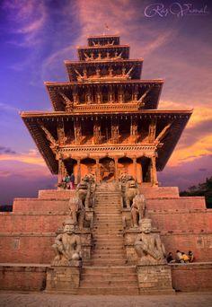 Nyatapola Temple, Nepal