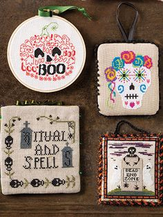 Cross stitch patterns for Halloween to make