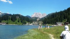 Lake Misurina Tourist