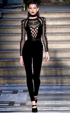 Julien Macdonald from Best Looks at London Fashion Week Fall 2015