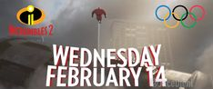 Get ready for a special preview of Incredibles 2 coming February 14 during NBC's coverage of the Winter Olympics.
