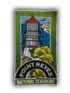 Point Reyes Patch Collectible Iron-On High Quality Stitching