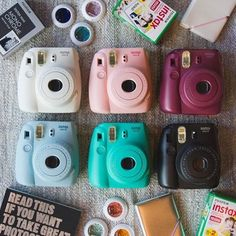 Shop Fujifilm X UO Custom Color Instax Mini 8 Instant Camera at Urban Outfitters today. We carry all the latest styles, colors and brands for you to choose from right here. Polaroid Instax Mini, Instax Mini 8, Fujifilm Instax Mini, Camara Fujifilm, Camera Aesthetic, Dslr Photography Tips, Nikon D5200, Camera Gear, Camera Hacks