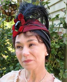 tutorial for this turban!   thanks to Steamcircus.com for the share