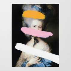 Brutalized Gainsborough 2 Art Print by chadwys | Society6