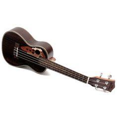 "21"" Soprano Ukulele Lovely Musical Instrument Black Guitar Rosewood Sale - Banggood.com"