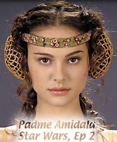 Interesting instructions on making false cauls the easy way.  This is Senator Padme Amidala, from Star Wars Ep. 2