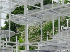 Loved the layers and seeing the park through - Serpentine Pavilion