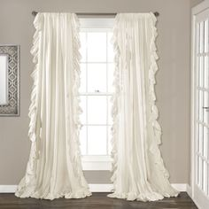 Lush Decor Reyna Curtain Panel Pair - 18338152 - Overstock.com Shopping - Great Deals on Lush Decor Curtains