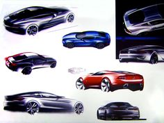 Ford New Mustang - Design Sketches