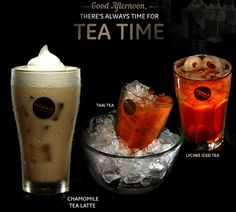Our tea series that guarantee will spoil your taste and relax your mind!
