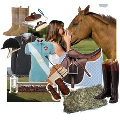 Another Day at the Stables, created by kucerace on Polyvore