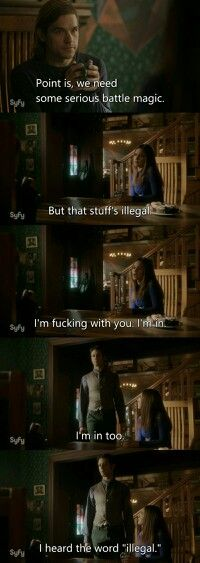 The Magicians Quote From 1x11