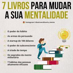 Good Books, Books To Read, My Books, Self Development, Personal Development, Start Ups, Self Improvement Tips, Study Motivation, Study Tips