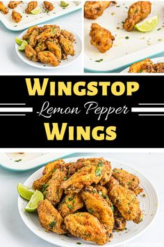 Cook up these Wingstop Lemon pepper wings and your family will be thanking you for days. Easy to cook but almost impossible to find leftovers. A true copycat wingstop recipe that will bring the restaurant ambiance into your own home. Wingstop Lemon Pepper Wings Recipe, Lemon Pepper Chicken Wings, Lemon Pepper Rub Recipe, Beef Steak Recipes, Chicken Wing Recipes, Rub Recipes, Copycat Recipes, Fondue Recipes, Wingstop Louisiana Rub Recipe