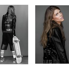 East Side Girls | Faux Leather Jacket