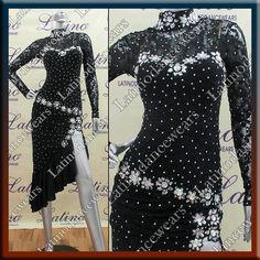 LATIN RHYTHM SALSA BALLROOM DANCE DRESS COMPETITION - SIZE S, M, L (VL369) #LatinoDancewears