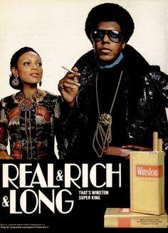Winston Cigarettes, 1972